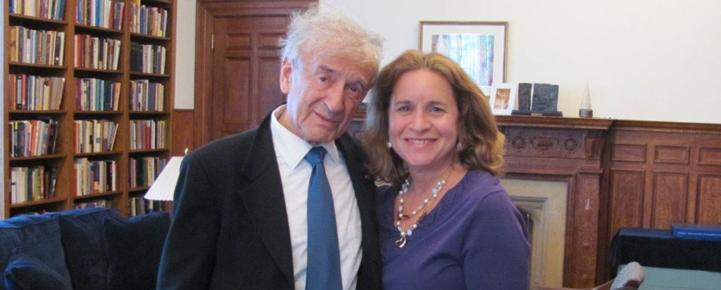 It is always an honor to meet with my mentor, Prof. Elie Wiesel